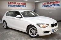 2014 BMW 1 SERIES 1.6 116D EFFICIENTDYNAMICS BUSINESS 5d 114 BHP £11499.00