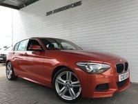 2013 BMW 1 SERIES 2.0 120D M SPORT 5d 181 BHP £9495.00