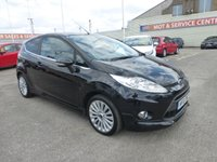 USED 2010 10 FORD FIESTA 1.6 TITANIUM 3d 118 BHP FSH * MEDIA CONNECTION * GOT BAD CREDIT * WE CAN HELP *