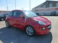 USED 2014 64 VAUXHALL ADAM 1.2 JAM 3d 69 BHP LOW MILES * LOW INS * BLUETOOTH * APPLY NOW *