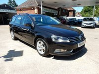 USED 2011 11 VOLKSWAGEN PASSAT 1.6 S TDI BLUEMOTION TECHNOLOGY 5d 104 BHP FULL HISTORY,TWO KEYS,AIR CON,MEDIA INPUT,AUX PORT