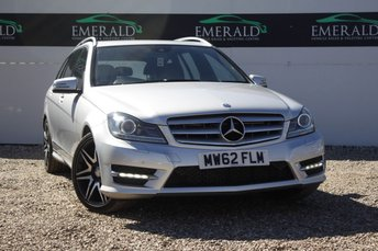 2013 MERCEDES-BENZ C CLASS 2.1 C250 CDI BLUEEFFICIENCY AMG SPORT PLUS 5d AUTO 202 BHP £12000.00