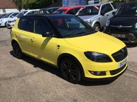 USED 2013 13 SKODA FABIA 1.6 MONTE CARLO TDI CR 5d 105 BHP EXCEPTIONALLY LOW MILEAGE,WITH SERVICE HISTORY