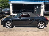 USED 2006 06 TOYOTA MR2 1.8 ROADSTER 2d 138 BHP
