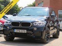 2016 BMW X5 3.0 XDRIVE30D M SPORT 5d AUTO 255 BHP £32990.00