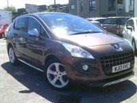 2013 PEUGEOT 3008 1.6 ALLURE E-HDI FAP 5d AUTO 115 BHP £7795.00