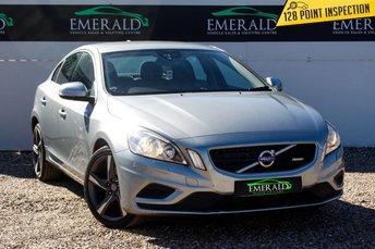 2012 VOLVO S60 1.6 DRIVE R-DESIGN S/S 4d AUTO 113 BHP £8500.00