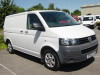USED 2012 62 VOLKSWAGEN TRANSPORTER 2.0 T28 TDI 1d 84 BHP ALLOYS **NO VAT** TWIN SIDE LOADING DOORS