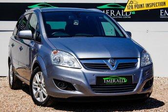 2011 VAUXHALL ZAFIRA 1.7 DESIGN CDTI ECOFLEX 5d 108 BHP £4000.00