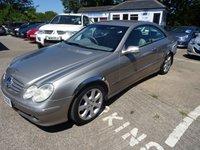 2005 MERCEDES-BENZ CLK 2.7 CLK270 CDI ELEGANCE 2d AUTO 170 BHP £2495.00