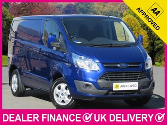 2016 FORD TRANSIT CUSTOM 2.2 TDCI LIMITED 125 270 SWB L1H1 PANEL VAN £12350.00