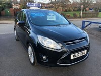 USED 2012 12 FORD C-MAX 1.6 TITANIUM 5d 123 BHP FINANCE AVAILABLE EVEN IF YOU HAVE POOR CREDIT.