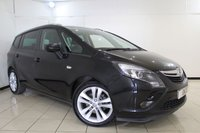 USED 2015 15 VAUXHALL ZAFIRA TOURER 1.4 SRI 5DR 138 BHP 7 SEATS + CRUISE CONTROL + MULTI FUNCTION WHEEL + RADIO/CD + AIR CONDITIONING + 18 INCH ALLOY WHEELS