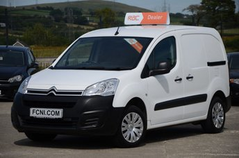 2015 CITROEN BERLINGO 1.6 625 ENTERPRISE 3 SEAT **FACELIFT MODEL // SAT NAV** £5750.00