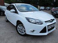 2012 FORD FOCUS 1.6 TITANIUM 5d AUTO 124 BHP £8499.00