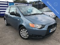 USED 2009 09 MITSUBISHI COLT 1.1 CZ1 3d 75 BHP Amazing Service History - 9 Stamps