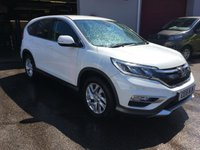 USED 2016 16 HONDA CR-V 1.6 I-DTEC SE 5d 118 BHP LOW MILEAGE, LOCAL OWNER, BLUETOOTH, CRUISE CONTROL,
