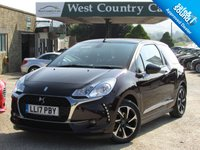 USED 2017 17 DS DS 3 1.2 PURETECH ELEGANCE S/S EAT6 3d AUTO 109 BHP Cabriolet DS3 With Only 1 Owner From New,