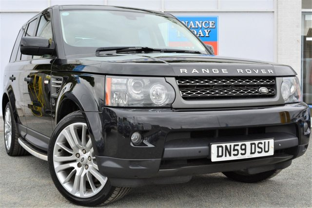 2010 59 LAND ROVER RANGE ROVER SPORT 3.0 TDV6 HSE Incredible High Spec with Good Service History inc Recent Service and MOT
