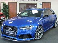 USED 2017 67 AUDI A6 4.0 RS6 PLUS AVANT TFSI QUATTRO 5d AUTO 597 BHP