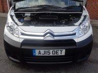 USED 2015 15 CITROEN DISPATCH 1.6 1000 L1H1 ENTERPRISE HDI 1d 89 BHP