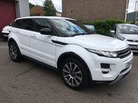 USED 2014 14 LAND ROVER RANGE ROVER EVOQUE 2.2 SD4 DYNAMIC 5d 190 BHP REVERSE CAMERA, PANORAMIC ROOF, SAT NAV,