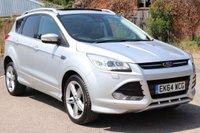2014 FORD KUGA 2.0 TITANIUM X TDCI 5d AUTO 160 BHP £13995.00