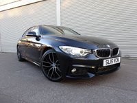 USED 2015 15 BMW 4 SERIES 2.0 418D M SPORT GRAN COUPE 4d AUTO 141 BHP The Car Finance Specialist