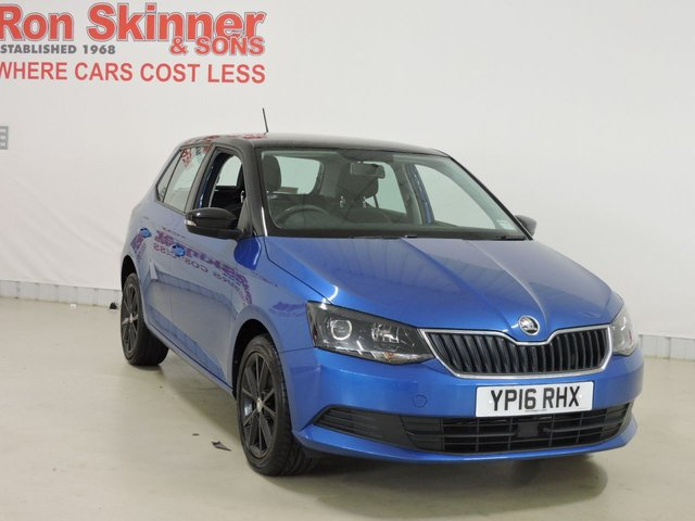 View our 2016 16 SKODA FABIA 1.2 COLOUR EDITION TSI 5d 89 BHP