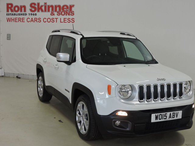 View our 2015 15 JEEP RENEGADE (35)   1.6 M-JET LIMITED 5d 118 BHP