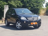 USED 2007 57 MERCEDES-BENZ M CLASS 3.0 ML280 CDI SPORT 5d AUTO 188 BHP LOW MILES ONLY 86K HPI CLEAR
