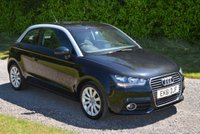 USED 2011 61 AUDI A1 1.6 TDI SPORT 3d 103 BHP 2 FORMER FSH LEATHER SAT NAV PARK AIDS BLUETOOTH TAX £20