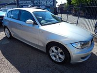 USED 2007 57 BMW 1 SERIES 2.0 120D SE 5d 175 BHP ALLOYS, AIR CONDITIONING, F.S.H