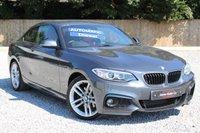 2014 BMW 2 SERIES 2.0 220D M SPORT 2d 181 BHP.LEATHER +SAT NAV £15795.00