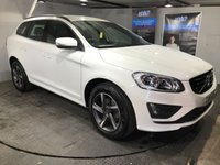 USED 2016 16 VOLVO XC60 2.0 D4 R-DESIGN 5d 187 BHP Only £30 a year road tax : Bluetooth    :    DAB Radio    :    R-Design contrasting leather upholstery  +  steering wheel  :  Rear parking sensors  :  Full Volvo main dealer service history  :  Still under it's original Volvo main dealer warranty  :  Still has 2 free services available at any Volvo dealership