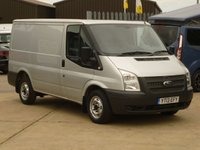 2013 FORD TRANSIT 2.2TDCi  T260 SWB 100 BHP moondust silver aircon electric pack  £6995.00