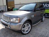 2008 LAND ROVER RANGE ROVER SPORT 2.7 TDV6 SPORT HSE 5d AUTO 188 BHP £8995.00