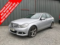 USED 2011 11 MERCEDES-BENZ C CLASS 2.1 C200 CDI BLUEEFFICIENCY SE EDITION 125 4d 136 BHP *** MOT - 01 OCTOBER 2018 ***