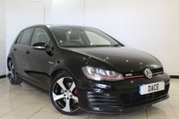 USED 2016 16 VOLKSWAGEN GOLF 2.0 GTI DSG 5DR AUTOMATIC 218 BHP VW SERVICE HISTORY + SAT NAVIGATION + BLUETOOTH + PARKING SENSOR + CRUISE CONTROL + MULTI FUNCTION WHEEL + RADIO/CD + CLIMATE CONTROL + 18 INCH ALLOYS WHEELS