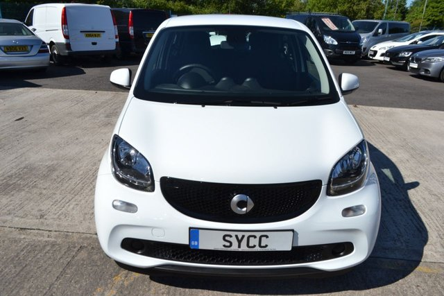 USED 2017 67 SMART FORFOUR 1.0 PASSION 5d 71 BHP GENUINE 2600 MILES ~ BALANCE OF SMART WARRANTY ~ 2 KEYS