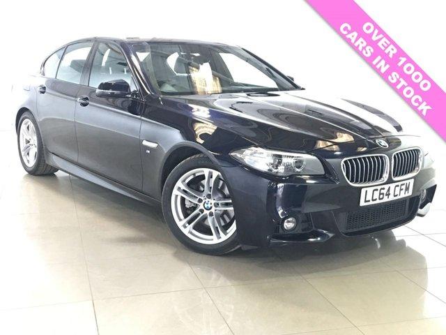 View our 2014 64 BMW 5 SERIES 2.0 520D M SPORT 4d AUTO 188 BHP