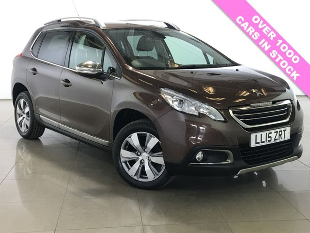 View our 2015 15 PEUGEOT 2008 1.6 E-HDI ALLURE FAP 5d AUTO 92 BHP