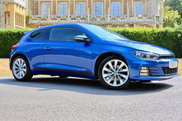 USED 2016 16 VOLKSWAGEN SCIROCCO 2.0 GT TDI BLUEMOTION TECHNOLOGY 2d 182 BHP