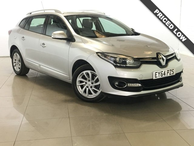 View our 2014 64 RENAULT MEGANE 1.5 DYNAMIQUE TOMTOM ENERGY DCI S/S 5d 110 BHP