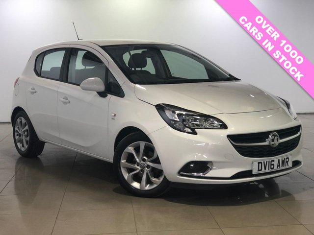 View our 2016 16 VAUXHALL CORSA 1.4 SRI ECOFLEX 5d 89 BHP