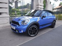 USED 2014 64 MINI COUNTRYMAN 1.6 COOPER S 5d 184 BHP *** FINANCE & PART EXCHANGE WELCOME *** 1 OWNER HALF LEATHER INTERIOR AIR/CON CRUISE CONTROL BLUETOOTH PHONE PARKING SENSORS