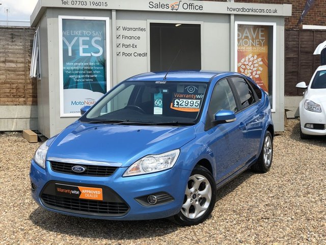 2008 08 FORD FOCUS 1.6 STYLE 5dr 100 BHP