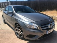 2015 MERCEDES-BENZ A CLASS 1.5 A180 CDI BLUEEFFICIENCY SPORT 5d AUTO 109 BHP £12500.00