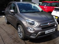 USED 2015 65 FIAT 500X 1.4 MULTIAIR CROSS PLUS DDCT 5d AUTOMATIC 140 BHP *RARE* Matt Magnetic Bronze finish. Full Service History (Fiat + ourselves), One Owner from new, Minimum 8 months MOT, Balance of Fiat Warranty until December 2018
