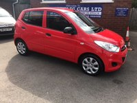 USED 2013 13 HYUNDAI I10 1.2 CLASSIC 5d 85 BHP ONLY 43K MILES